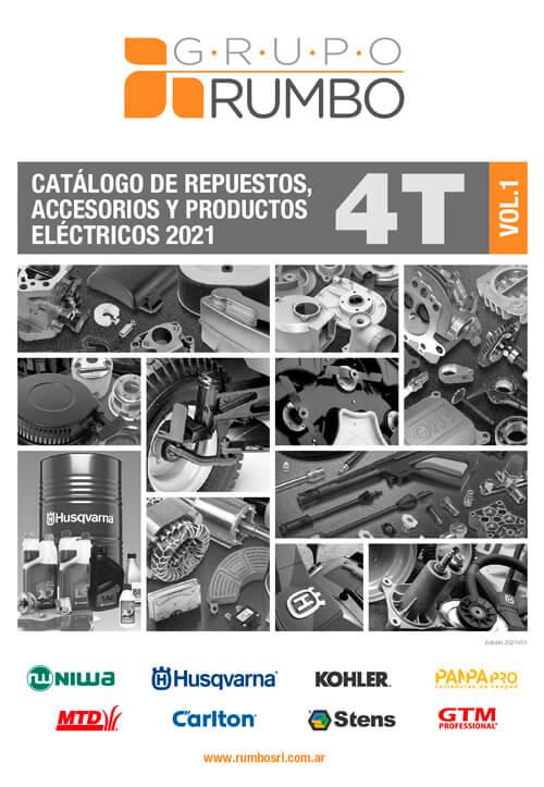 Catálogo Grupo Rumbo de repuestos y accesorios 4T y productos eléctricos 2021