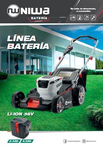Niwa - Batería - Catálogo 2020