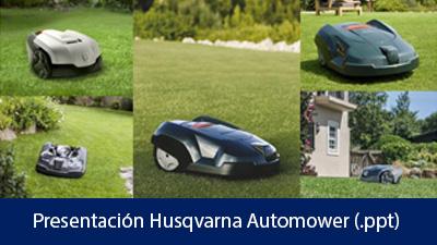 Presentación Husqvarna Automower .ppt