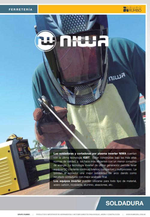 Catálogo Soldadoras Niwa