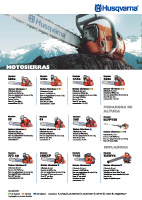 Catálogo Husqvarna Motosierras