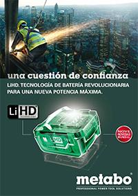 metabo y la tecnología lihd (batería)