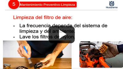 Capacitación de Producto Husqvarna - Mantenimiento Preventivo de Motosierras
