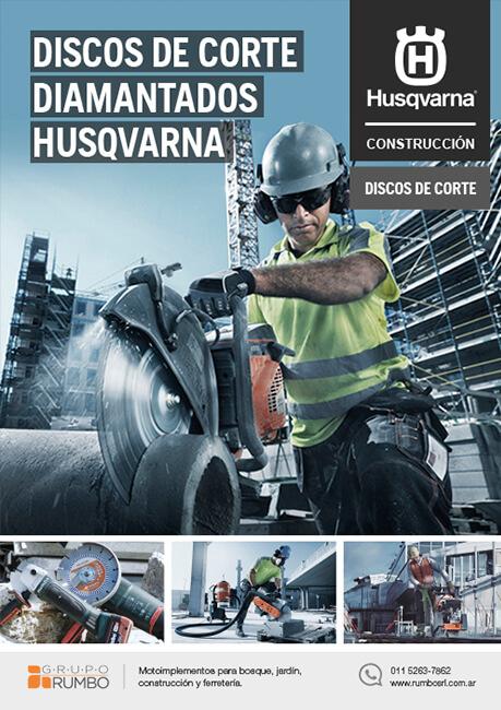 Husqvarna - Catálogo de Discos diamantados