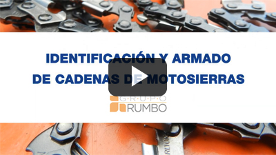 Armado de cadenas de motosierras - Nociones básicas