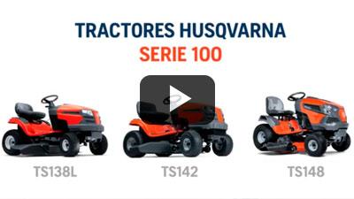 Spot: Tractores cortacésped Husqvarna TS138L, TS142 y TS148.