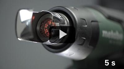 Pistola de aire caliente Metabo HG 18 LTX 500