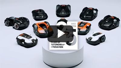 Automower Husqvarna, 25 años de innovación