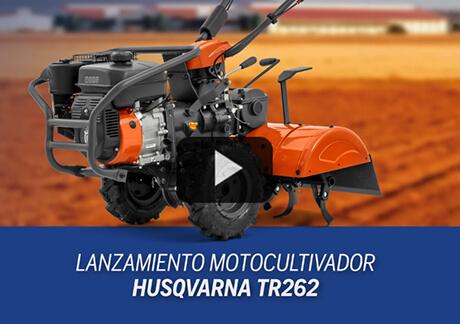 Lanzamiento Motocultivador Husqvarna TR 262
